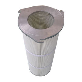 3 Lugs Industrial Air Filter , Aluminum Cap Dust Extraction Filters GTJ3266 Model
