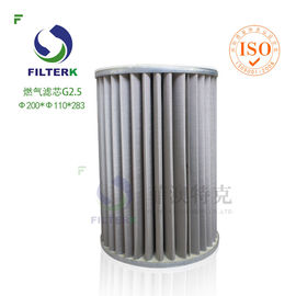 20 Micron Gas Filter Element Lightweight Non Corrosive SGS Approval