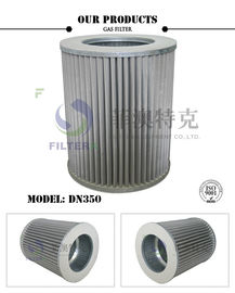Artificial Coal 50 Micron Filter Bolt Hole Construction For Natural Gas Purification