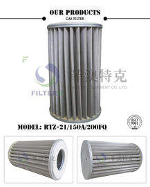 Pleated Metal Mesh Gas Filter Element For Pipeline Industry 6.4MPa Pressure