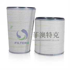 Air Compressor Dust Collector Filter Cartridge , Hepa Washable Air Cleaner Filter