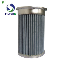 Piab Pleated Cartridge Filter Element For Vacuum Conveyors Polyester PTFE Material