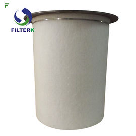 Oil Separator Air Compressor Filter Cartridge , Industrial Breathing Air Filter Cartridges