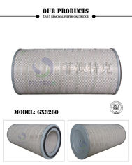 Pleated Turbine Oil Filter , Not Rust Cartridge Industrial Air Intake Filters