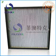 Class Aluminum Foil Gas Turbine Filters Box Type F9 Efficiency Foe Shot Blast