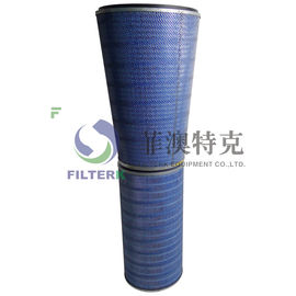 Synthetic Gas Turbine Filters Hepa Grade 324 * 213 * 660mm Size P191281 Model