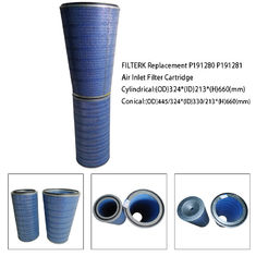 Gas Turbine Replacement Filter Elements Air Inlet F7 - F8 Efficiency Hepa Grade