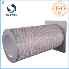 Square End Cap Gas Turbine Filters Cartridge For Air Inlet Housing F7 - F8 Efficiency