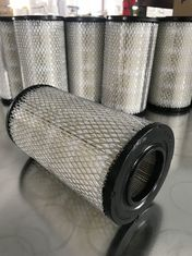 Cylindrical Vacuum Pump Filter Element , Lightweight Vacuum Pump Intake Filter