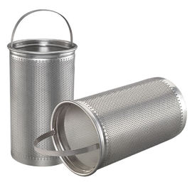 Basket Washable Furnace Filters Stainless Steel Mesh Strainer