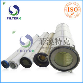 Three Lugs Industry Pleated Filter Cartridge For 9.4 M2 Filtering Area